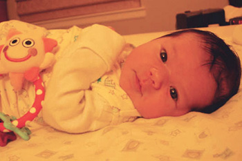 A photo of baby Felicity